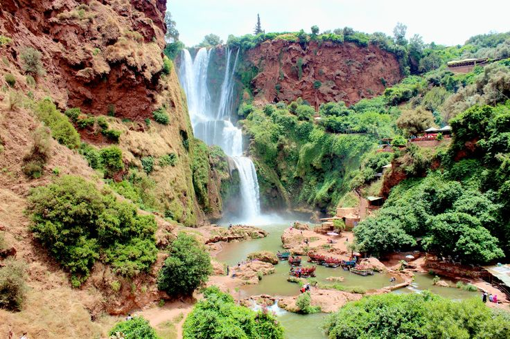 Paradise view of #Ouzoud #waterfalls, #Morocco :) You just can't resist to be here <3   #Holidays #Travelling #Tourist #UK #ViriksonMoroccoHolidays #MoroccoHolidayPackages