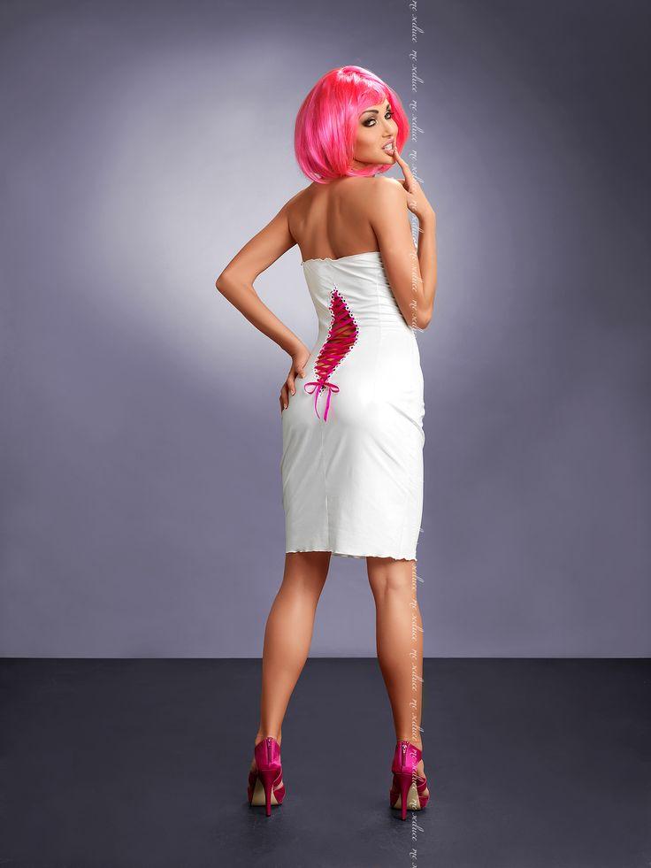 Clubwear Me Seduce Xenia White