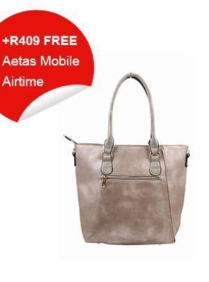 Black Cherry Bronze Handbag