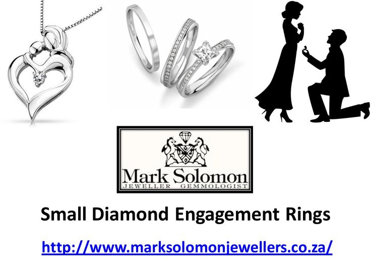 To get best small diamond engagement rings in Cape Town @ http://www.marksolomonjewellers.co.za/