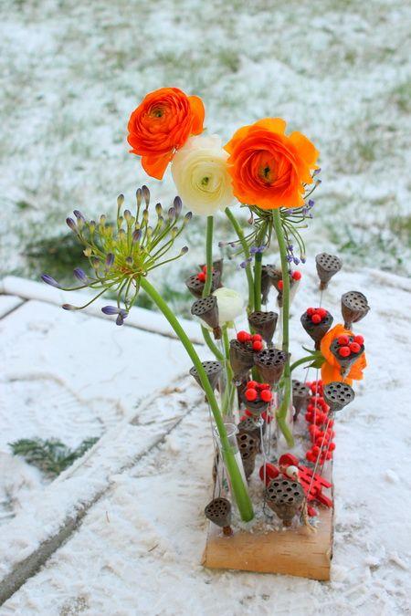 Winter floral deisgn.