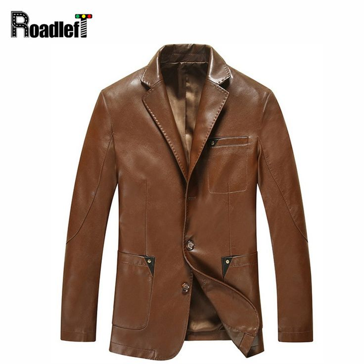 2017 autumn sheepskin genuine leather clothing blazers jacket Men's slim fit suit casual outerwear coat Men blazer masculino