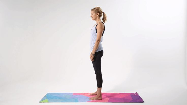 Forward Fold with Clasp Pose / 9 Yoga Poses to Open Your Shoulders