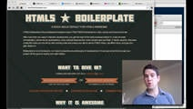 Video on Boilerplate