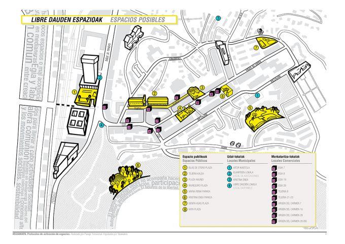 Protocolos para la activación de los espacios vacíos por Paisaje Transversal. Imagen © Cortesía de Paisaje Transversal. Señala encima de la imagen para verla más grande.