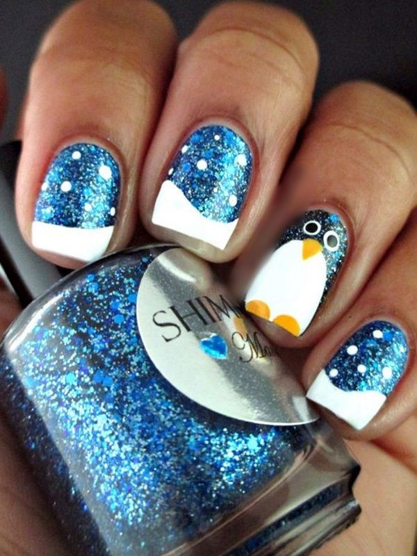 45 Holiday Nails Art Designs