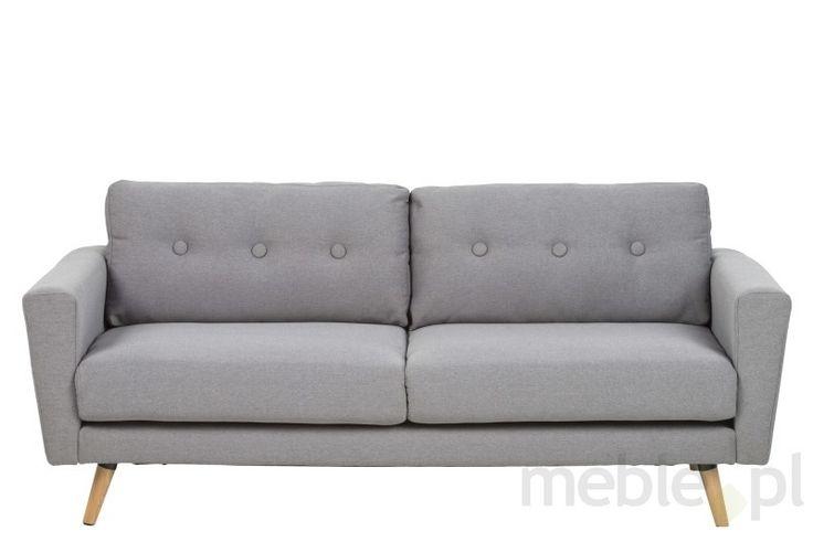 Sofa Sonja 192 cm, szary, tkanina, Actona (0000060593)