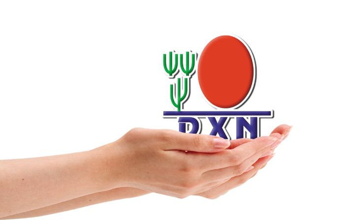 DXN logo in the hand