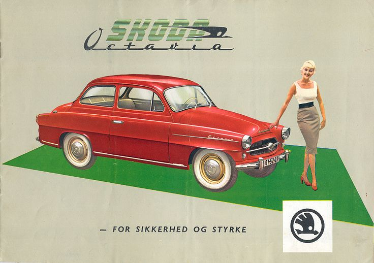 Škoda Octavia brochure (1959)