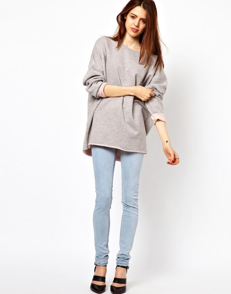 15 best Chic Oversized Sweatshirts For Women images on Pinterest