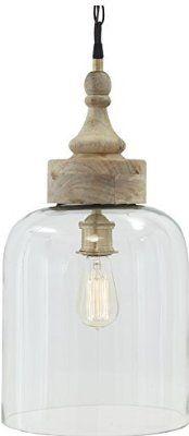 Signature Design by Ashley L000148 Transparent Glass Pendant Light