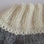 Les lisières La perfection des lisières est un aspect important du tricot : elles facilitent l'assemblage des différentes pièces et, si elles res