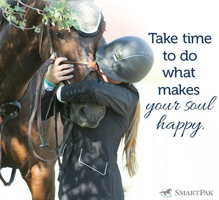 We hope you're planning on heading to the barn to hug your horse today!