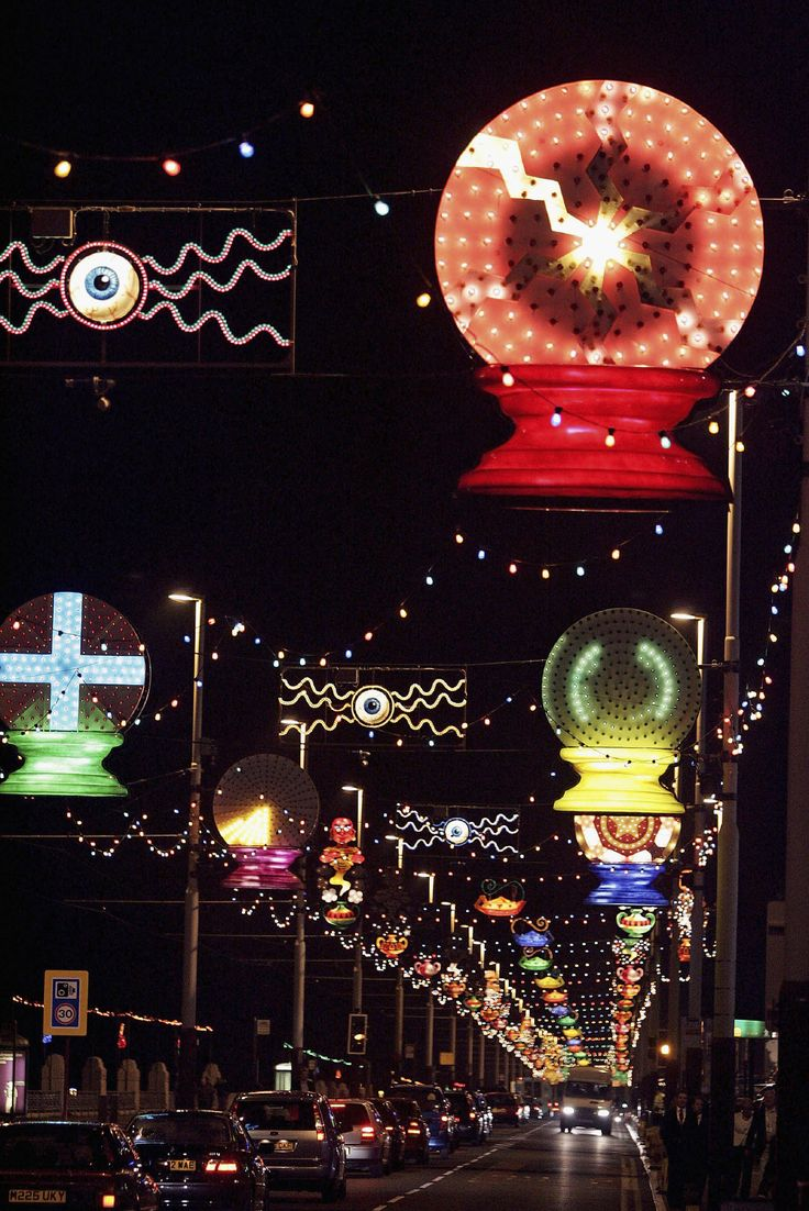 Brighten up your day at the Blackpool Illuminations!