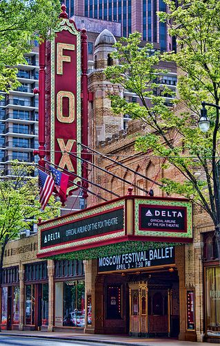 See world renowned shows at the Fox Theatre!