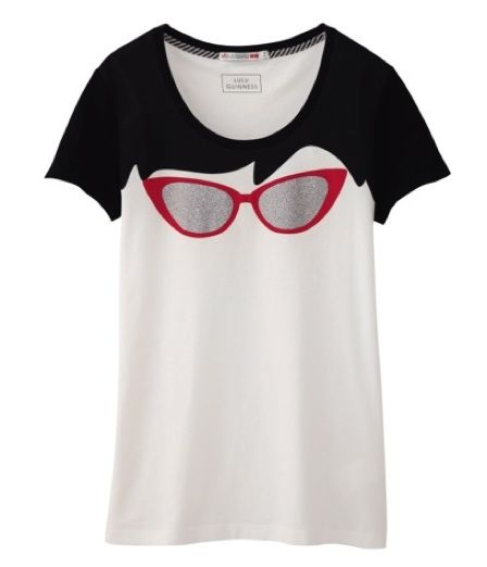 5 Lulu Guinness for Uniqlo T-Shirts That Are To-Die-For Cute!: Dressed: glamour.com