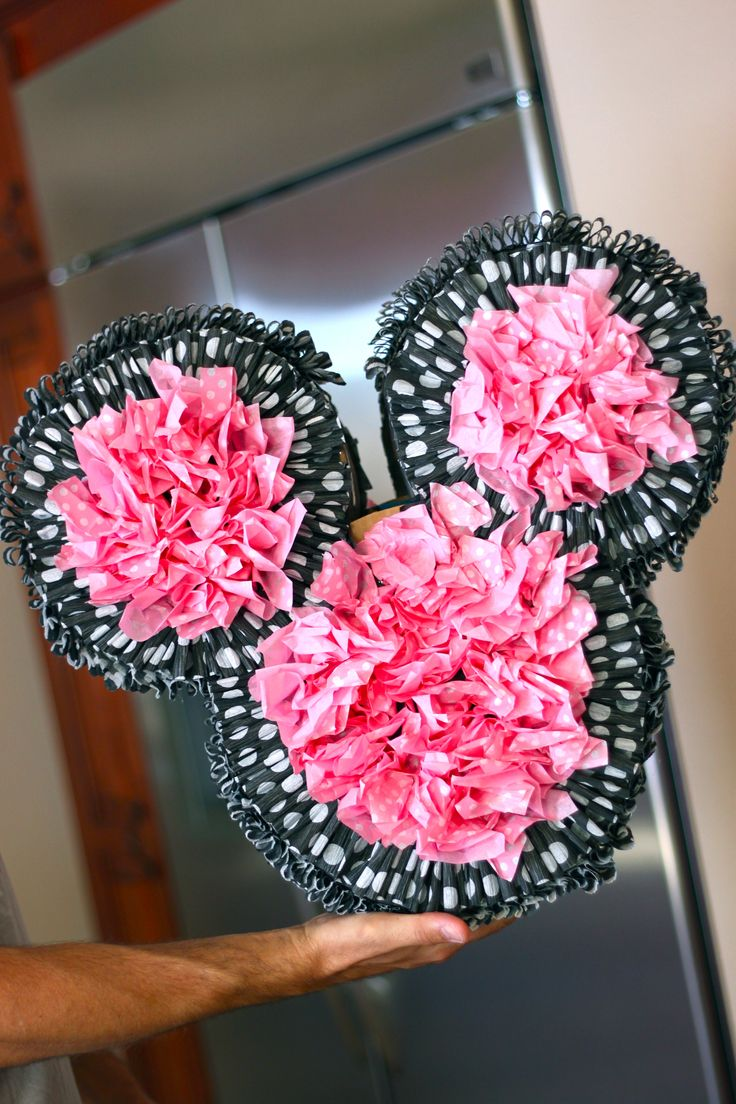 141 best mickey mouse party images on pinterest beautiful diy pinata u seriously have to look at this mini mouse party so flipping cute amipublicfo Choice Image