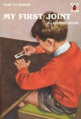 A ladybird book. I shouldn't even be pinning this