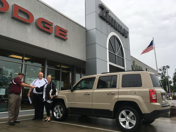 Theresa Schroer came to see us about a new SUV and look at the sharp 2017 Jeep Patriot she is taking home! Internet Manager 'Mac' McIntyre and Sales Consultant Bryan Marsh made everything a breeze from start to finish. Congratulations Theresa and thank you for letting us earn your business! www.zimmermotors.com/staff