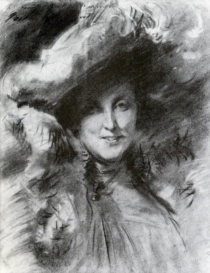John Singer Sargent - Mrs. Charles Hunter, 1902