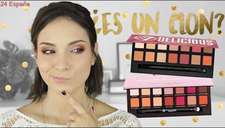¿Clon de Modern Renaissance? | #JuevesDePaletas w7 Delicious swatches + review + tutorial