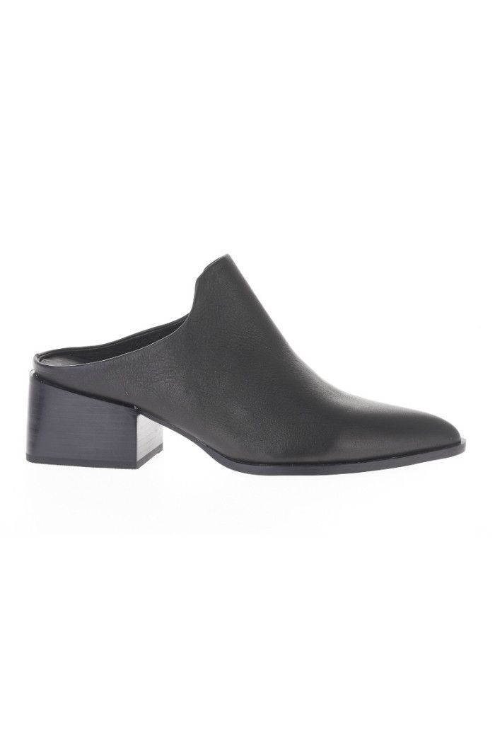 25+ best ideas about Leather mules on Pinterest   Mules shoes, Women's leather mules and Black leather mules