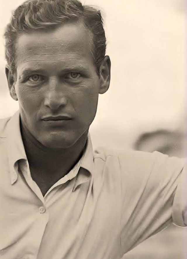 An intense Paul Newman ..                                                                                                                                                     Más