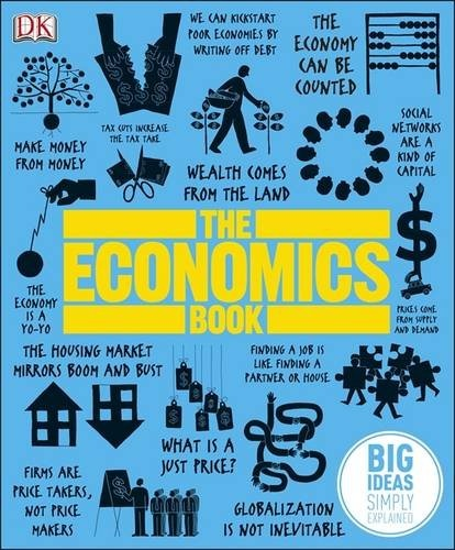 Bring economics to life with The Economics Book, an essential guide to more that 100 of the big ideas in economic theory and practice covering everything from ancient theories right up to cutting-edge modern developments. RRP: £16.99