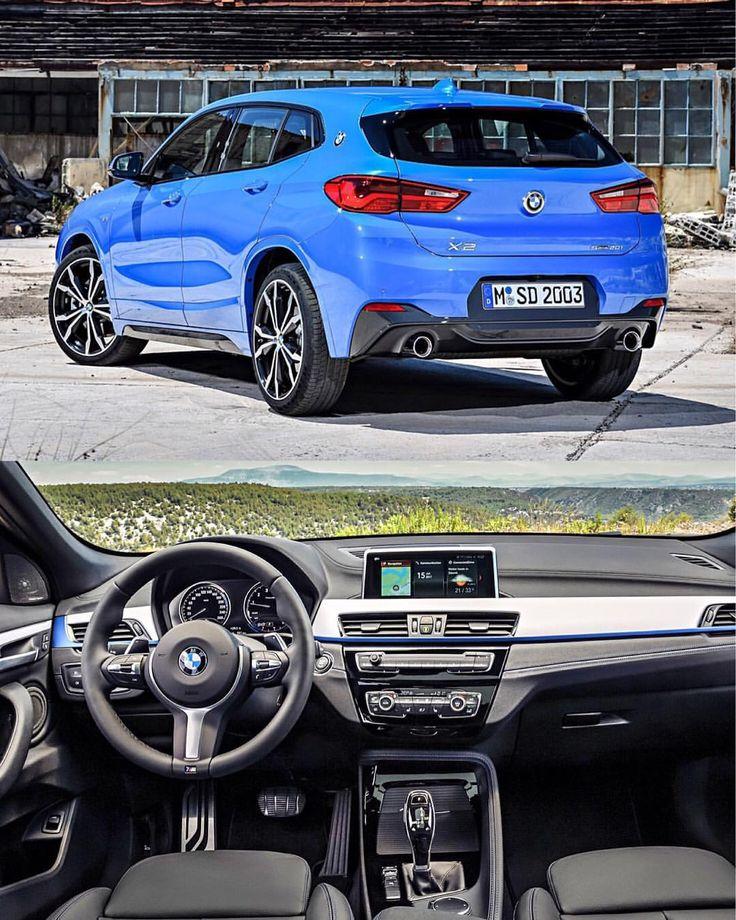 Bmw X2 Sport: BMW X2 M Sport Package In Milano Blue