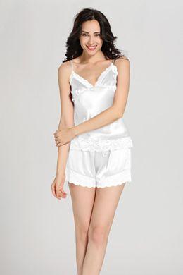 商品番号: 2137【22匁】レディース シルクパジャマセット【ショット.レース】http://www.lilysilk.jp/22-momme-lace-silk-camisole-set