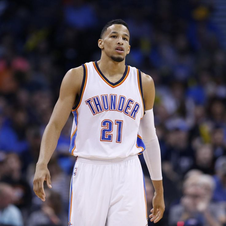 Oklahoma City Thunder  guard  Andre Roberson  left Sunday's game against the  Miami Heat  in the first quarter with an ankle injury. He is likely to miss 2-to-3 weeks.          Continue for updates...