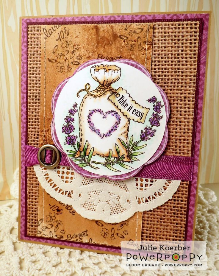 """""""The heart of every perfect summer forever captured in the sweet, cool, refreshing scent of lavender."""" Excerpt from Lavender, Sweet Lavender by Judyth A. McLeod A stamp set inspired by that most endur"""