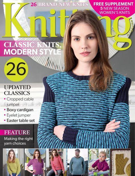 Knitting Magazine April 2015 - 轻描淡写的日志 - 网易博客