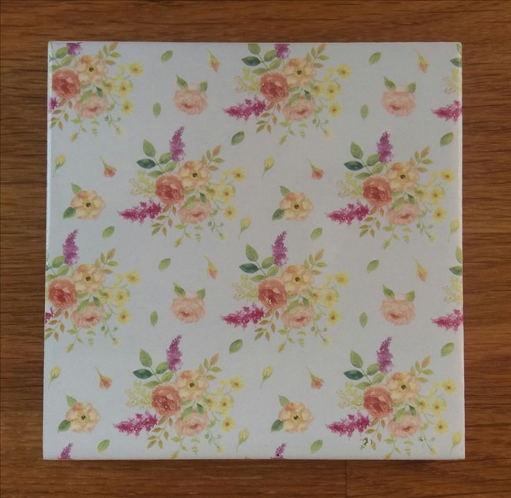 31 best Floral Tiles - Ceramic Wall Tiles with Flower Designs ...