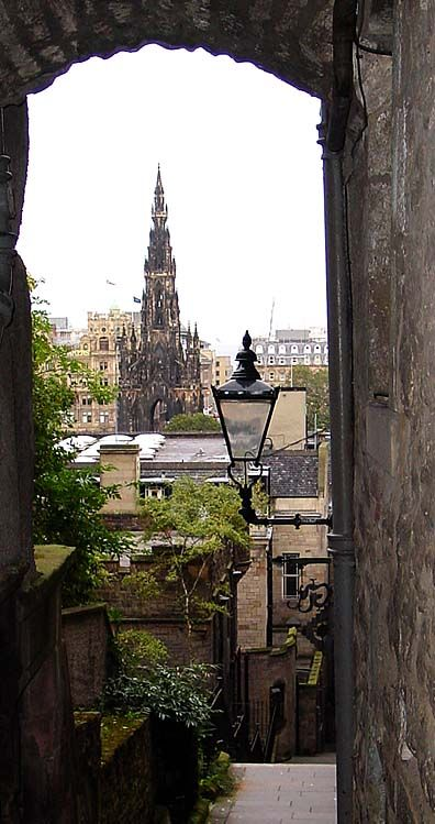 A friend and I have a trip planned to backpack both Ireland and Scotland while visiting a friend who recently was accepted into graduate school there. The anticipation of another backpacking trip is killing me!    (Edinburgh, Scotland, UK by Nina via TrekEarth)