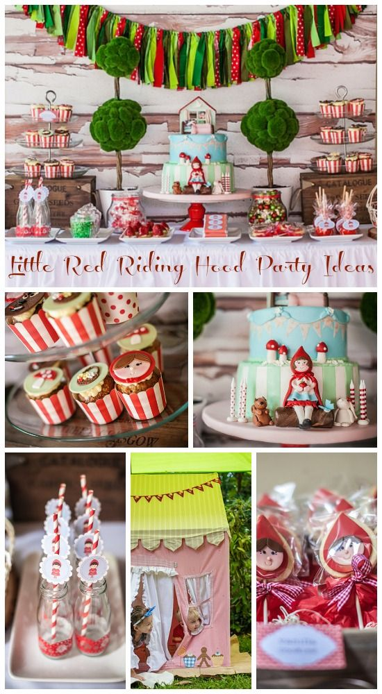 ' Little Red Riding Hood ' Birthday Party Idea