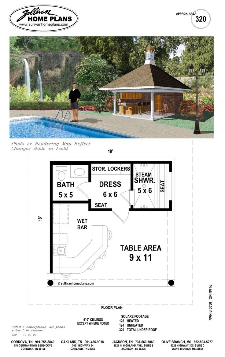 Best 25 pool house plans ideas on pinterest tiny home for House plans with separate kitchen