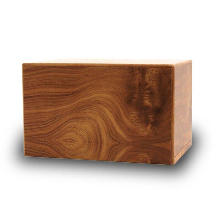 Adoration Pet Cremation Urn Box - Natural
