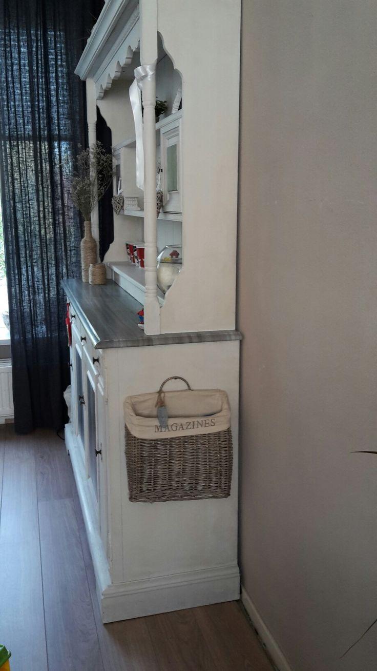 Love my cabinet  ❤ magazine holder -> Countryfield