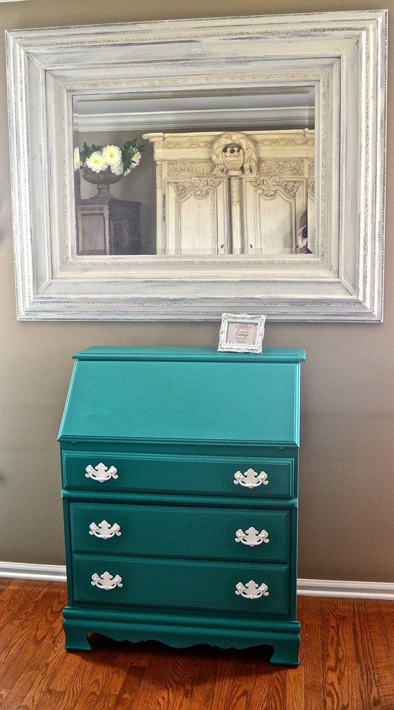 Stunning Vintage slant secretary desk / writing desk in florence on Etsy, $500.00