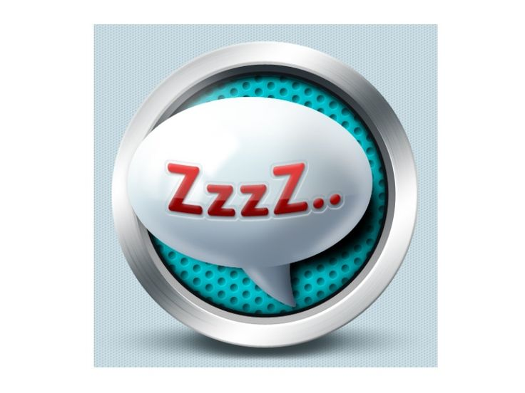Sleep icon - Czech Point System by Petr   Direct-services
