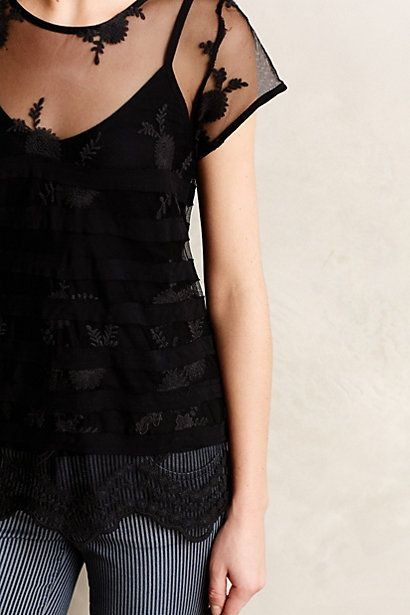 Chopin Lace Tee ~ This top has a serious dose of pretty in it.  And how becoming is its name?!  I do adore Chopin.