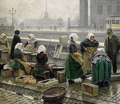 Paul Gustave Fischer - Fish Market