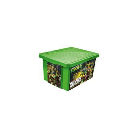 """Little Angel Ящик для хранения игрушек """"X-BOX"""" """"Черепашки ниндзя"""" 17л, Little Angel, зеленый  — 566р.  Ящик для хранения игрушек """"X-BOX"""" """"Черепашки ниндзя"""" 17 л, Little Angel, зеленый изготовлен отечественным производителем . Выполненный из высококачественного пластика, устойчивого к внешним повреждениям и изменению цвета, ящик станет не только необходимым предметом для хранения детских игрушек и принадлежностей, но и украсит детскую комнату своим ярким дизайном. По бокам ящика с помощью…"""
