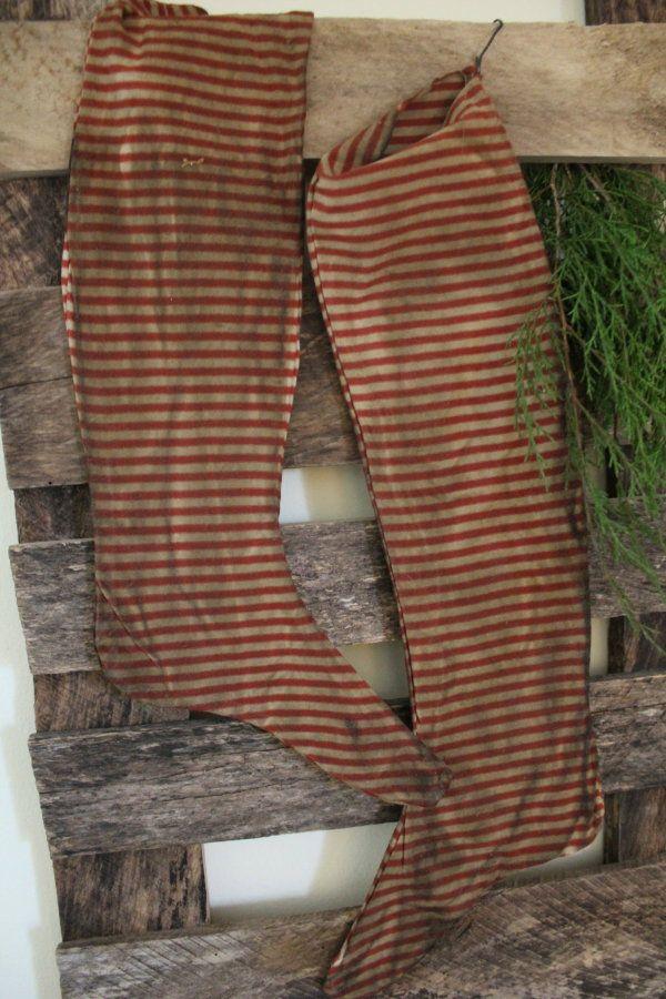 Prim Christmas Stockings...Cinnamon Creek.