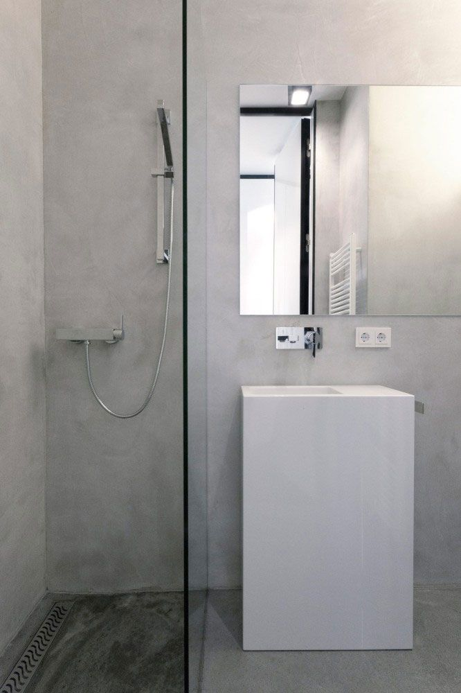 Minimalist small bathroom #minimalist #small #bathroom