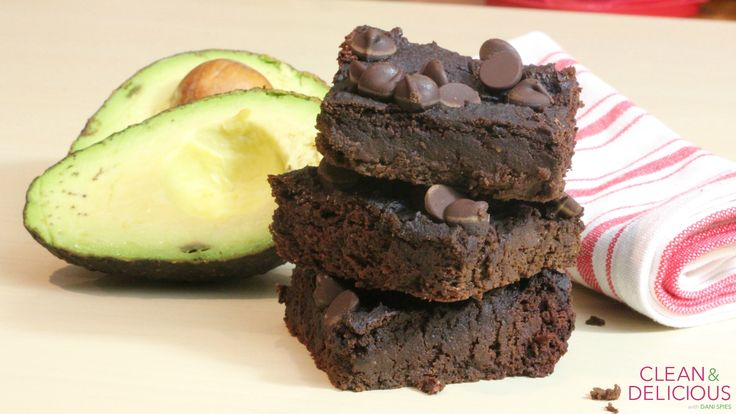 Double Chocolate Avocado Brownies | Clean & Delicious with Dani Spies