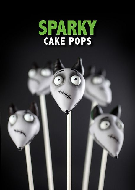 Sparky Cake Pops by Bakerella, via Flickr