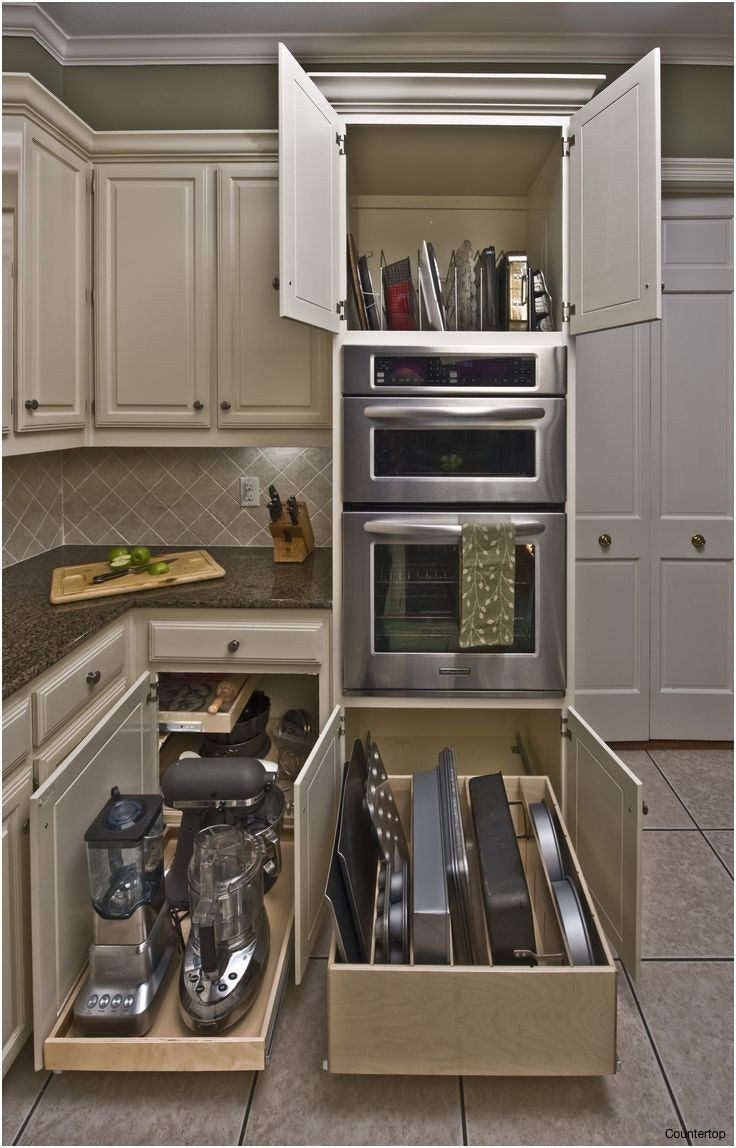 Kitchen Appliances Small Appliance Storage Solutions Organizer Contemporary Kitchen Cabinets New Kitchen Cabinets Modern Kitchen