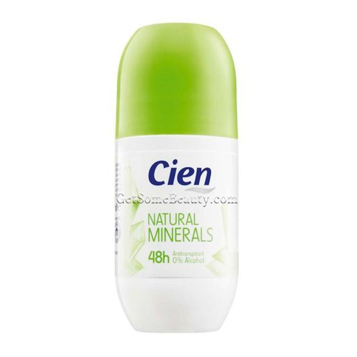 Cien Deo-Roll-On Natural Minerals 50 ml